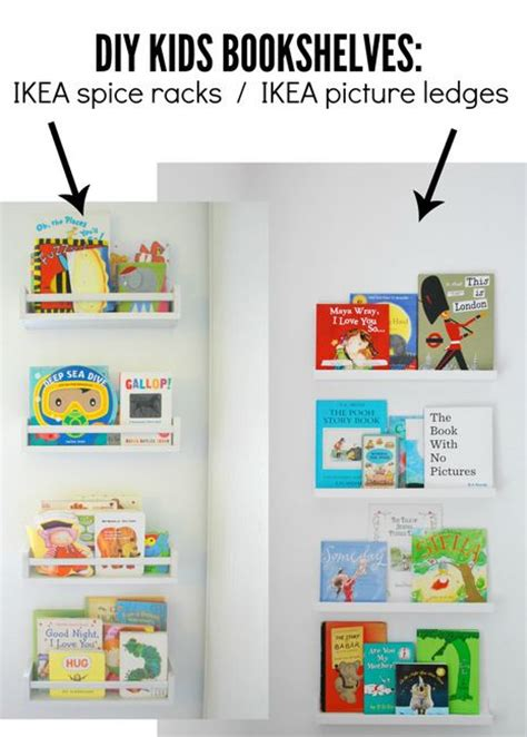 12 times ikea picture ledges became a genius storage 25 b 228 sta ikea pictures id 233 erna p 229 pinterest ikeatips