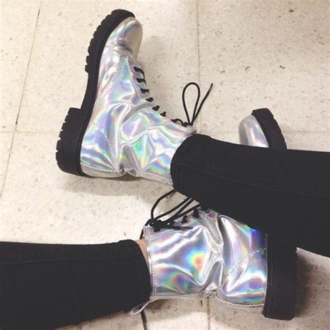 boat shoes tumblr holographic doc martens tumblr