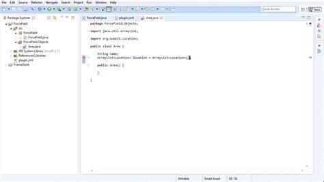 pattern plugin java bukkit plugin java tutorial area protection plugin part