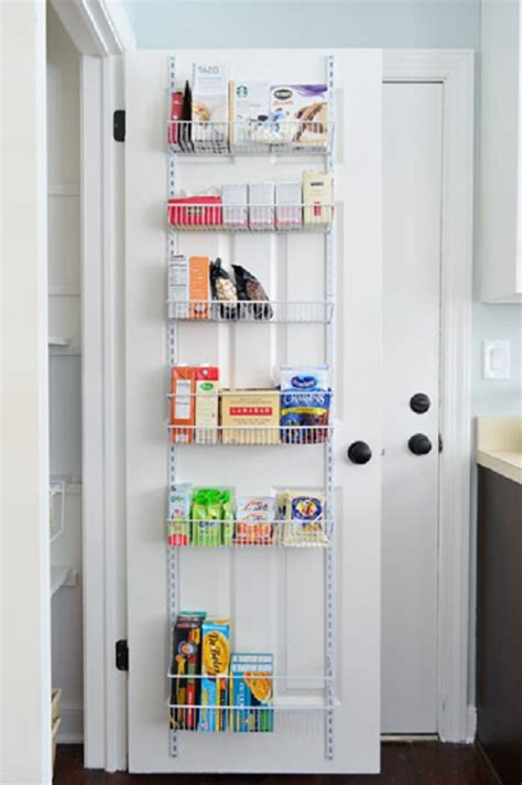 Kitchen Cabinet Organization Systems 14 Genius Ways To Turn A Door Into Extra Storage Space