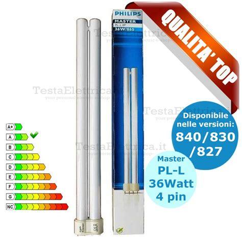Lu Neon Philips 36w lada pl l 36w 4p al neon attacco 2g11 master philips