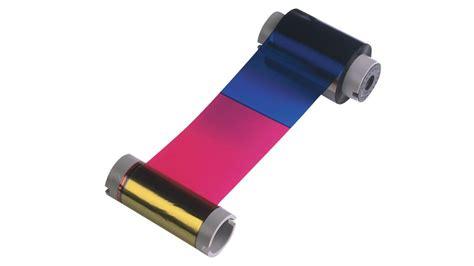 Fargo Color Ribbon Ymcko Cartridges 250 Images Prints Pn 45000 fargo 81733 ribbon
