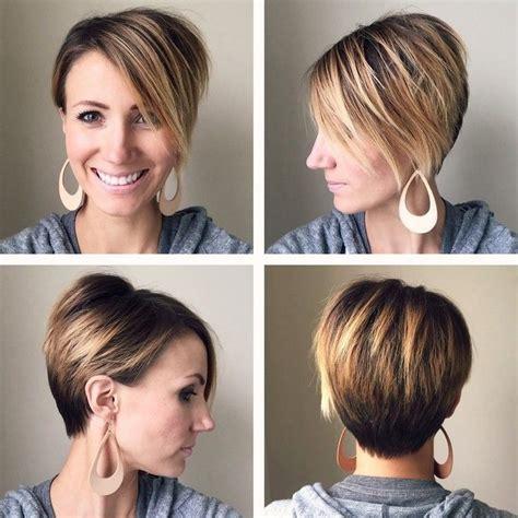 ombre hair cheveux courts en  idees tendance pour