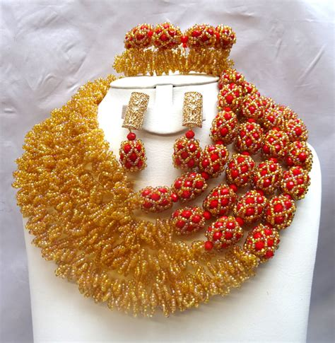 nigerian bridal bead necklaces 50 pictures latest designs statement african coral jewelry beads jewelry set