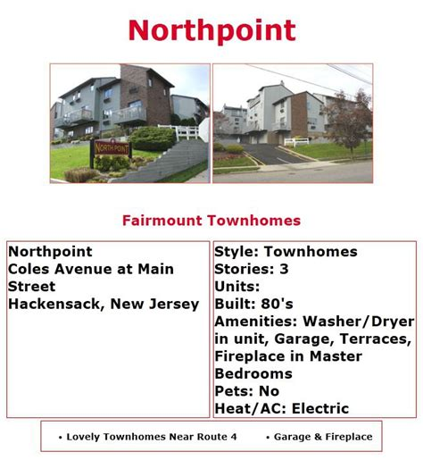 section 8 hackensack nj bergen county condos for sale at northpoint hackensack nj