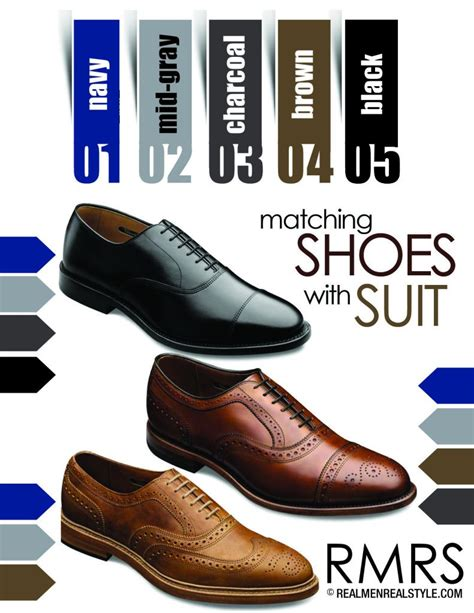 what color shoes with blue suit how to the right shoes for any color suit business