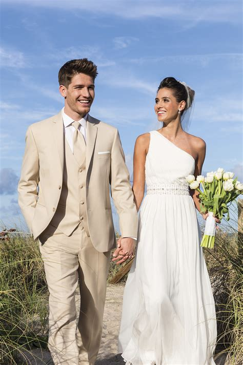 linen wedding suit rental lord west tan havana slim fit suit jim s formal wear