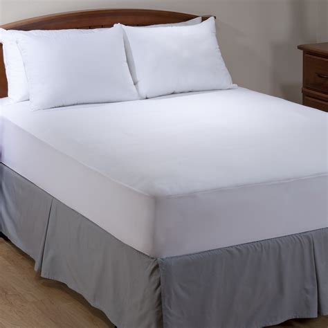 Allergic To Comforter by Aller Ease King Microfiber Mattress Pad