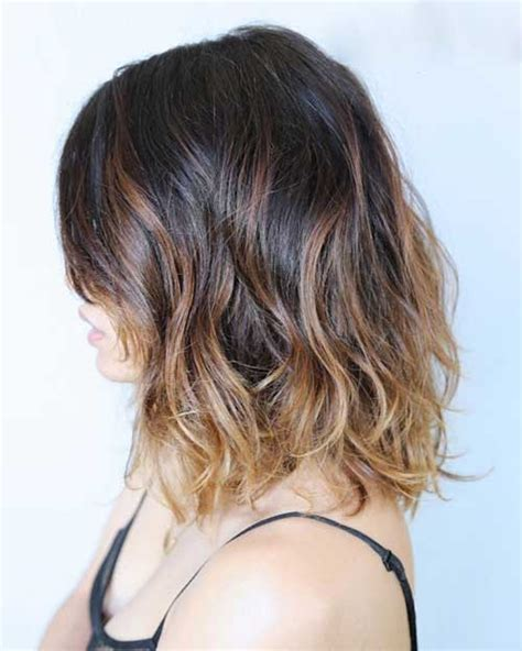 brown and ombre with a line hair cut 15 best long bob brown hair bob hairstyles 2017 short