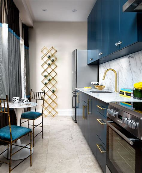 Golden Kitchen by Gold Is Chic And Modern Brass Fixtures To Upgrade Your