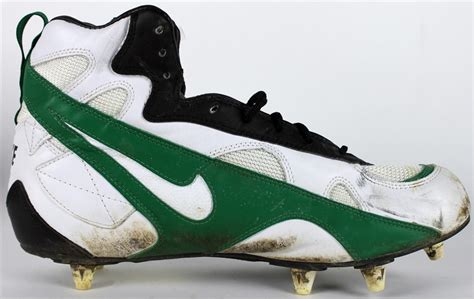 lot detail packers reggie white used cleats from