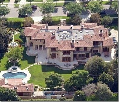 homes of famous people photos