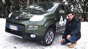 Fiat Panda 4x4 Twinair Nuova Fiat Panda 4x4 Twinair La Prova Sulla Neve