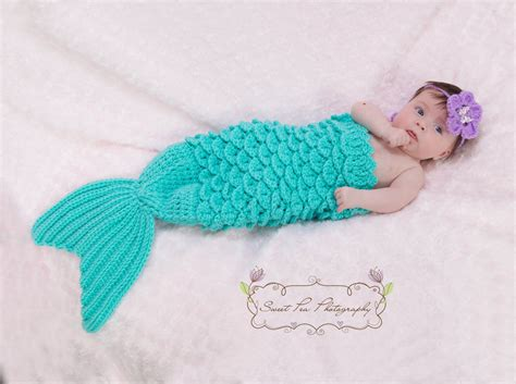 crochet pattern for mermaid tail crochet mermaid tail headband prop instant download pdf from