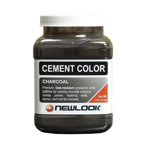 newlook 1 lb charcoal fade resistant cement color