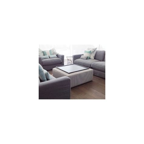 footstool coffee table porto square piped coffee table stool footstools more
