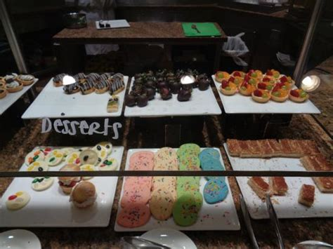 dessert at the buffet at monte carlo casino picture of