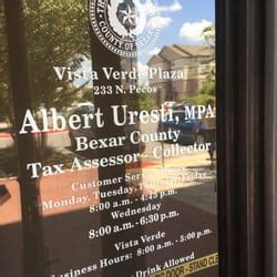 Tax Office San Antonio by Bexar County Tax Assessor Registration Services 233 N