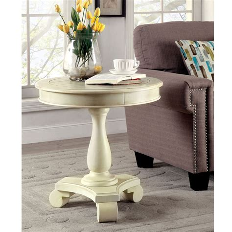 solid wood pedestal side table kalea transitional accent side end table solid wood