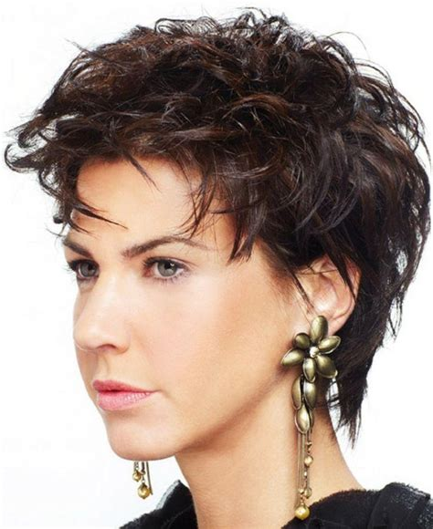 short hairstyles for thick frizzy hair over 50 2018 popular short haircuts for thick frizzy hair