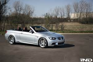Bmw M3 E92 Bmw E92 M3 Convertible Gets New Wheels