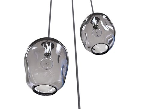 blown glass lighting pendants buy made river rock cluster pendant lighting