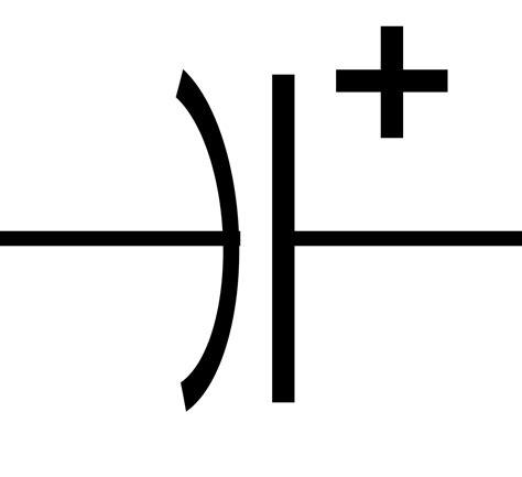 how polarized capacitor works file polarized capacitor symbol svg wikimedia commons