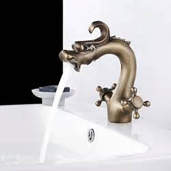 brass faucets bathroom sink faucets images style antique brass finish two
