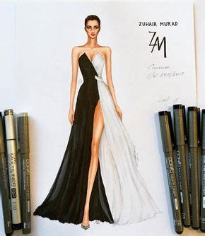 10530 Monella Black Set 2 In 1 10530 best images about bocetos de moda on david downton dress sketches and paper