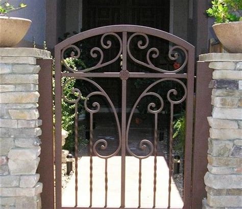 courtyard gates 31 best images about wrought iron on front
