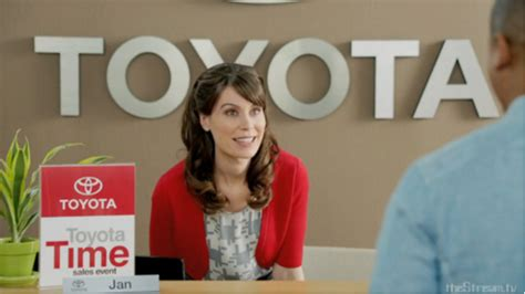 Who Is Jan On The Toyota Commercials Do You The Your Favorite Commercials