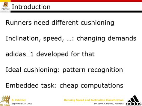 pattern classification task classification of changes in speed