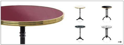 table de bistrot hauteur 74 cm gu 233 ridon 233 maill 233