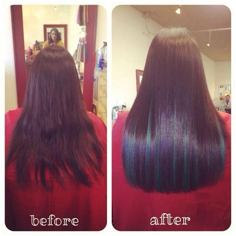 fusion hair extensions before and after before and after 2 bundles of 18 quot keratin fusion hair