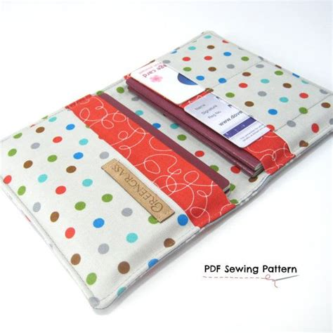 passport holder pattern sewing family passport holder pdf sewing pattern for 2 two di