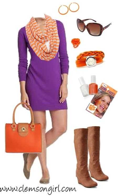 fashion s coolest clash how orange and purple became the colours 244 best images about gameday fashions on pinterest