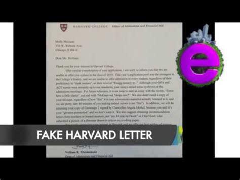 Rejection Letter Viral high school student s harvard rejection letter goes