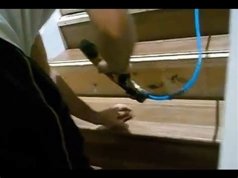 Installing Hardwood Floors on Stairs: How To Install Riser
