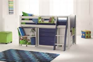 Scallywag Bunk Bed Cresta Scallywag Cabin Mid Sleeper Bed Bed Post