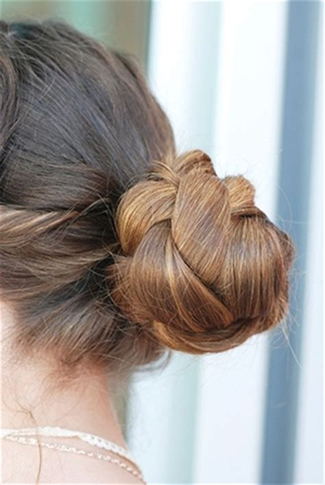 Wedding Updos Braided Bun by Stylish Updos For Medium Length Hair That Define Elegance