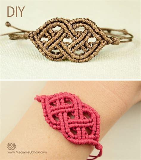 Macrame Styles - celtic style macrame bracelet 171 jewelry wonderhowto
