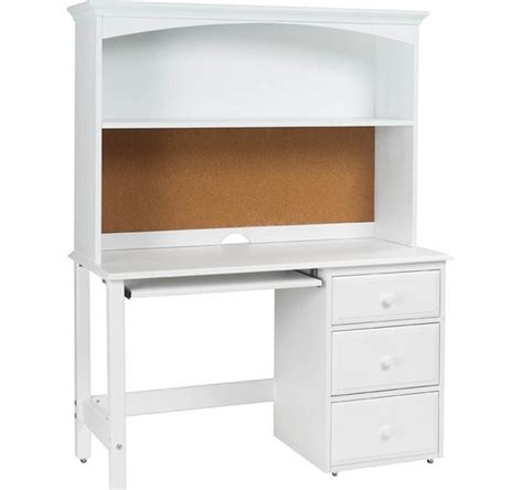 Lexington Desk And Hutch In Cloud White L Shaped Desk White Desk With Hutch