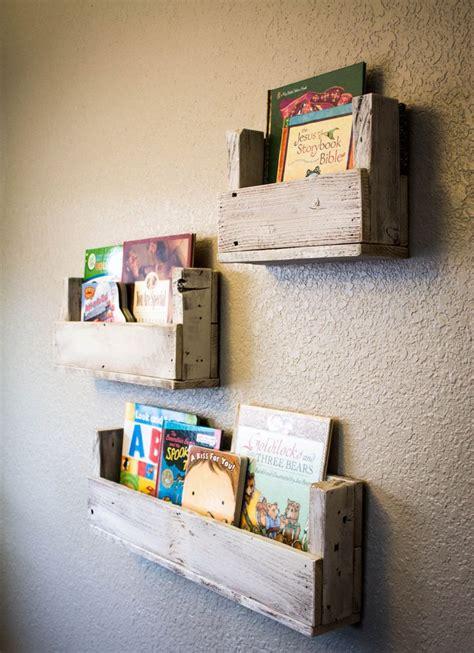 reclaimed wood bookshelves set of 3 rustic bookshelf