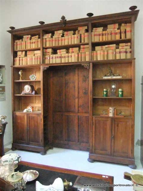 mobili librerie antiche antichit 224 il tempo ritrovato antiquariato e restauro