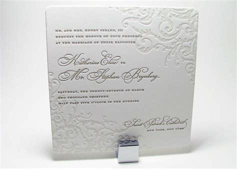 letterpress wedding invitations boston 2012 february letterpress designs digby washington dc
