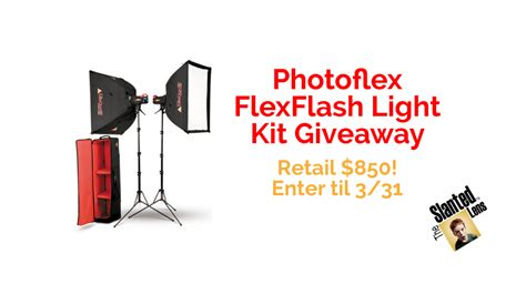 This Is Lit Giveaway by Photoflex Flexflash 200w Strobe Light Kit Giveaway