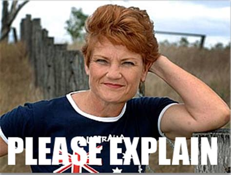 Pauline Hanson Memes - chaotic neutral discussion thread page 19