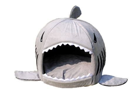 dog shark bed hot deal 1 95 shark pet bed for small cat or dog