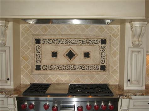Kitchen Mural Backsplash Handcrafted Mosaic Mural For Kitchen Backsplash Traditional Tile Ta By American Tile
