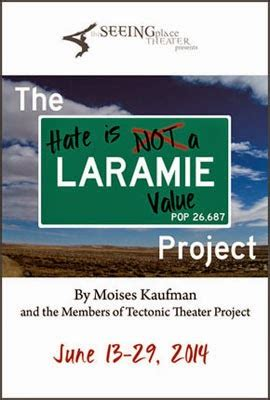 the laramie project tectonic theater project reviews off broadway whats on off broadway the laramie